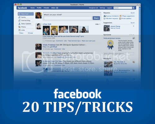 facebook tips &amp; tricks