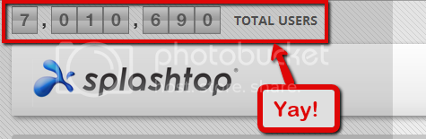 Splashtop hits 7 million users!